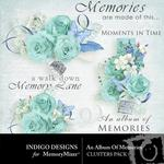 An Album of Memories Clusters Pack-$1.99 (Indigo Designs)