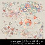 A Beautiful Moment Scatterz Pack-$1.40 (Lindsay Jane)