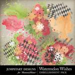 Watermelon Wishes Splatters Pack-$2.49 (Jumpstart Designs)