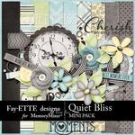 Quiet Bliss Mini Pack-$2.99 (Fayette Designs)