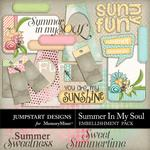 Summer in my Soul Journal and WordArt Pack-$2.49 (Jumpstart Designs)