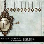 Friendship LB Pendant Alphabet Pack-$0.99 (Laura Burger)