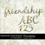 Friendship LB Metal Alphabet Pack-$0.99 (Laura Burger)