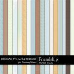 Friendship LB Cardstock Paper Pack-$3.49 (Laura Burger)