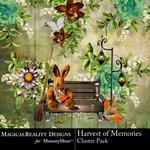 Harvest of Memories Cluster Pack-$1.99 (MagicalReality Designs)