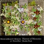Harvest of Memories Border Pack-$1.99 (MagicalReality Designs)