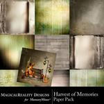 Harvest of Memories Paper Pack-$3.99 (MagicalReality Designs)