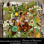 Harvest of Memories Embellishment Pack-$3.49 (MagicalReality Designs)