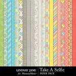 Take A Selfie Paper Pack-$2.49 (Lindsay Jane)
