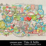Take A Selfie Embellishment Pack-$3.49 (Lindsay Jane)