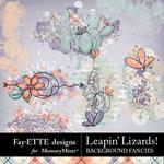 Leapin Lizards Background Fancies-$2.99 (Fayette Designs)
