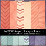 Leapin Lizards Basics Paper Pack-$2.99 (Fayette Designs)
