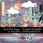 Leapin Lizards Embellishment Pack-$2.45 (Fayette Designs)