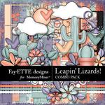 Leapin Lizards Combo Pack-$4.99 (Fayette Designs)