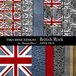 British Rock Paper Pack-$2.99 (Tara Reed Designs)
