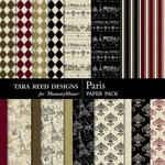 Paris Paper Pack-$2.10 (Tara Reed Designs)