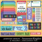 Amusement Kingdom WordBits Pack-$2.99 (Jumpstart Designs)