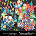 Amusement Kingdom Spare Parts-$2.49 (Jumpstart Designs)
