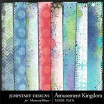 Amusement Kingdom Blended Paper Pack-$3.49 (Jumpstart Designs)