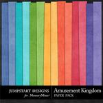 Amusement Kingdom Solid Paper Pack-$3.49 (Jumpstart Designs)