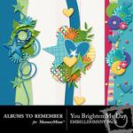 You Brighten My Day Border Pack-$1.40 (Albums to Remember)