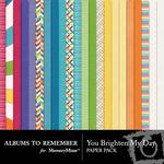 You Brighten My Day Paper Pack-$3.99 (Albums to Remember)