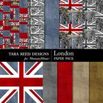 London Paper Pack-$2.10 (Tara Reed Designs)