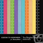 You Brighten My Day Paper Pack 2-$3.99 (Albums to Remember)