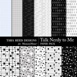 Talk Nerdy to Me Paper Pack-$2.10 (Tara Reed Designs)