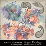 August Evenings Splatters Pack-$2.49 (Jumpstart Designs)