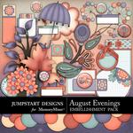 August Evenings Add On Embellishment Pack-$3.99 (Jumpstart Designs)