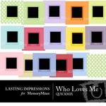 Who Loves Me QuickMix-$3.49 (Lasting Impressions)