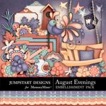 August Evenings Embellishment Pack-$2.45 (Jumpstart Designs)
