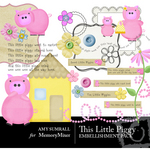 This little Piggy Embellishment Pack-$3.50 (Amy Sumrall)