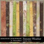Sweater Weather Grungy Cords Paper Pack-$3.49 (Laura Burger)