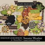 Sweater Weather Add On Embellishment Pack-$2.49 (Laura Burger)