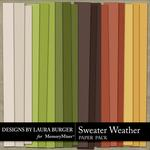 Sweater Weather Solid Paper Pack-$3.49 (Laura Burger)