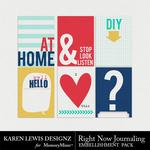 Right Now Journaling Pack-$1.99 (Karen Lewis)