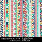 Right Now Paper Pack-$3.99 (Karen Lewis)