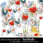 SeaShells Clusters Pack-$1.99 (MagicalReality Designs)