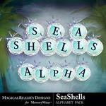 SeaShells Alphabet Pack-$0.99 (MagicalReality Designs)