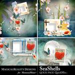 SeaShells Quick Page-$3.99 (MagicalReality Designs)