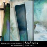 SeaShells Paper Pack-$3.99 (MagicalReality Designs)
