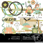 Majestic Wonder Embellishment Pack-$3.50 (Karen Lewis)