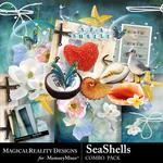 SeaShells Combo Pack-$3.50 (MagicalReality Designs)