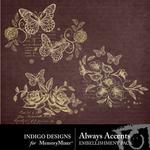 Always Accents Pack-$1.99 (Indigo Designs)