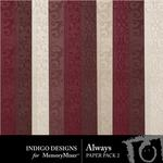 Always Embossed Paper Pack-$2.99 (Indigo Designs)