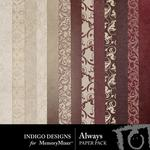 Always Paper Pack-$2.99 (Indigo Designs)