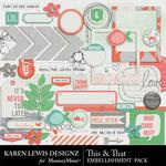 This and That Embellishment Pack-$2.99 (Karen Lewis)