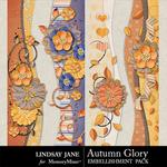 Autumn Glory Borders Pack-$1.99 (Lindsay Jane)